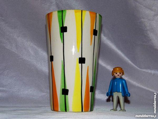 Vase vintage années 50 60 céramique moderniste 20 Dunkerque (59)
