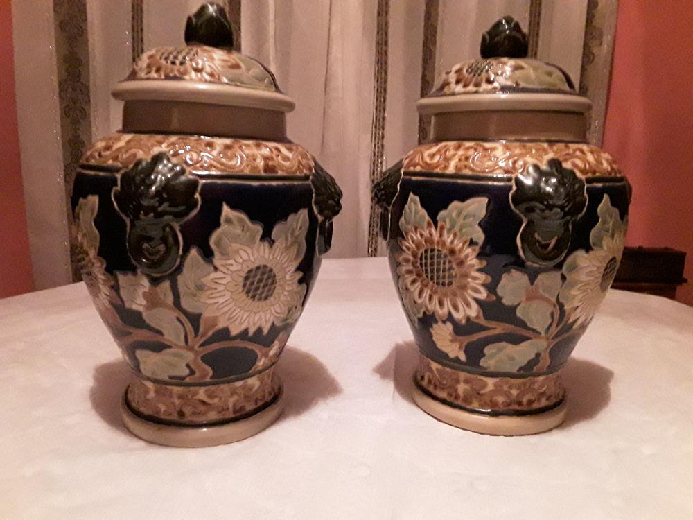 2 vases déco de style asiatiques  30 Lille (59)