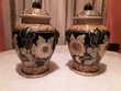 2 vases déco de style asiatiques