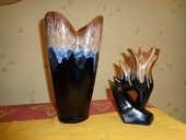 2 vases style Vallauris vintage 39 Orsay (91)