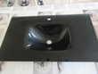 Vasque en verre noir Bricolage