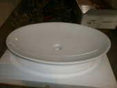Vasques ovales  pour salle de bain +miroir éclairant  160 Claix (38)