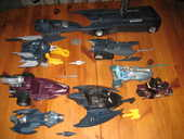lot 8 vehicules BATMAN ANIMATED SERIE batmobile etc 1992 1993 kenner 70 Cézy (89)