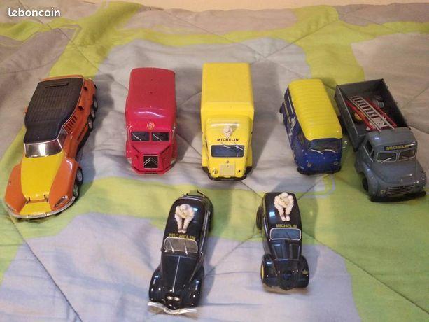 Lot véhicules Michelin x7 Autos Ds Camions Modéles Réduits 19 Montpellier (34)