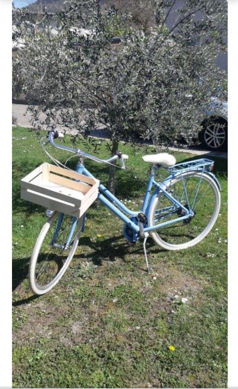 Vélo apostrophe femme bleu 270 Villard-Bonnot (38)