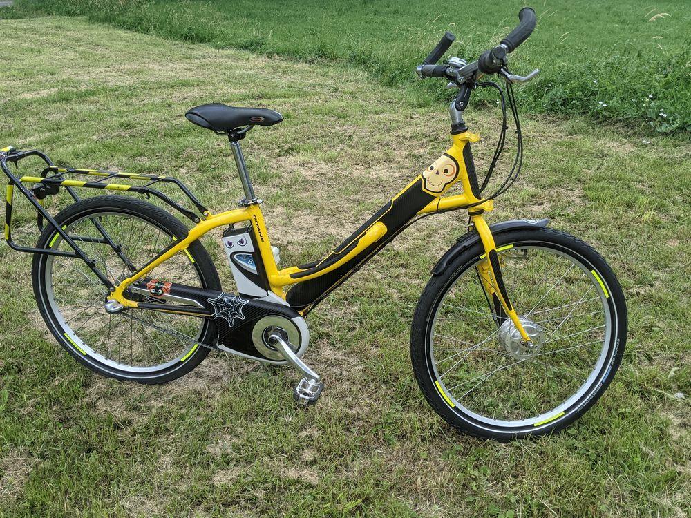 Vélo cargo à assistance électrique, Gitane + remorque 850 Saint-Denis (93)
