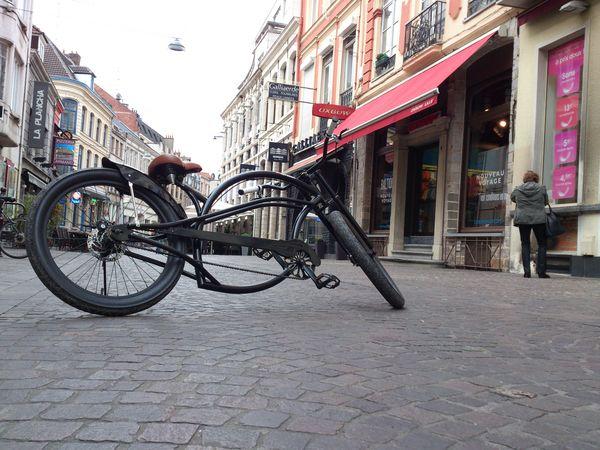 vélo chopper noir 0 Lille (59)