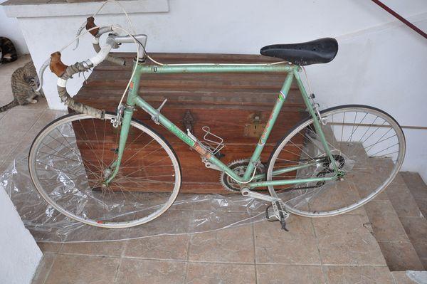 Velo de course Francesco Moser Vintage 90 Bayonne (64)