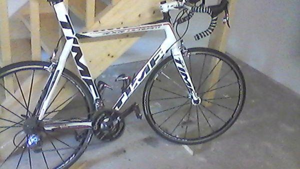 vélo de course time rxr ulteam 2500 Estérençuby (64)