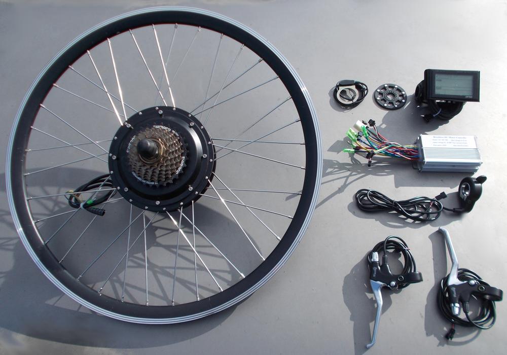 kit vélo électrique 500W Régénération au freinage 240 Saint-Brieuc (22)