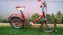 vélo enfant pliant rouge 35 Douvaine (74)