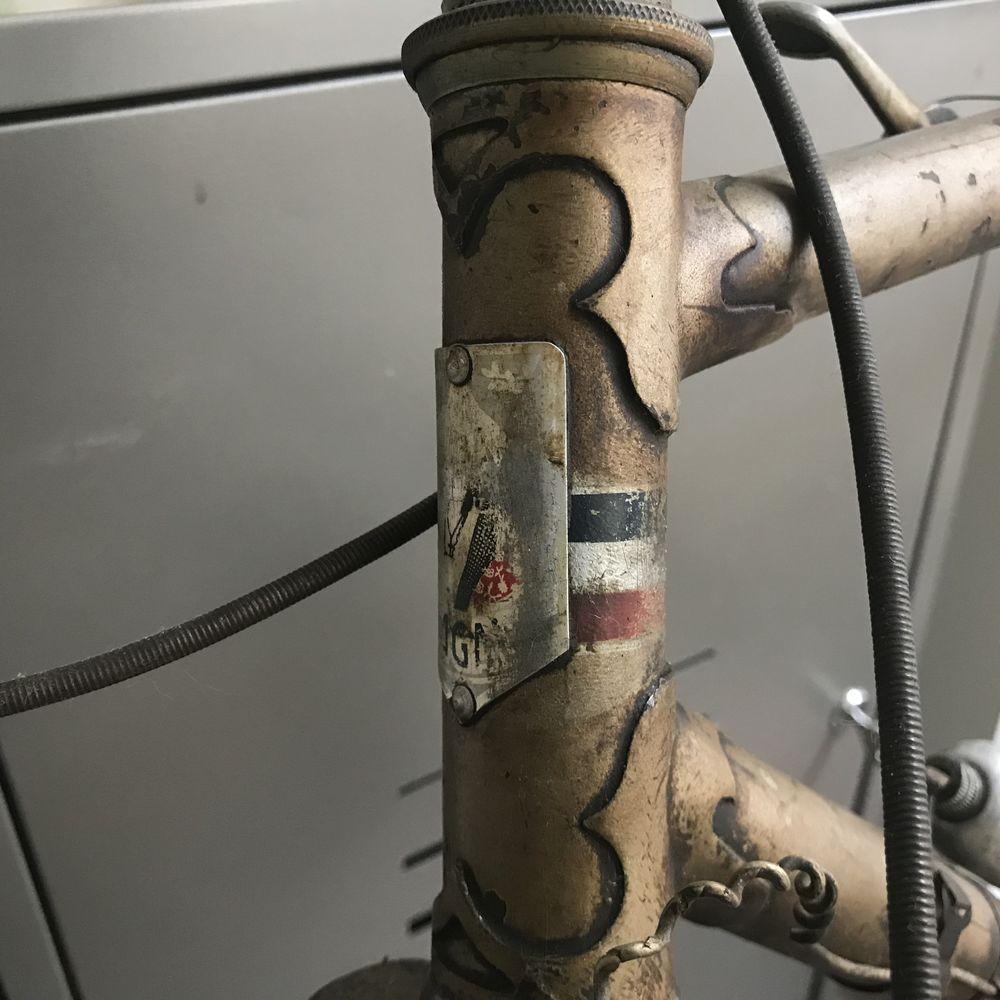 Vélo d'époque après guerre Manufrance 0 Avignon (84)