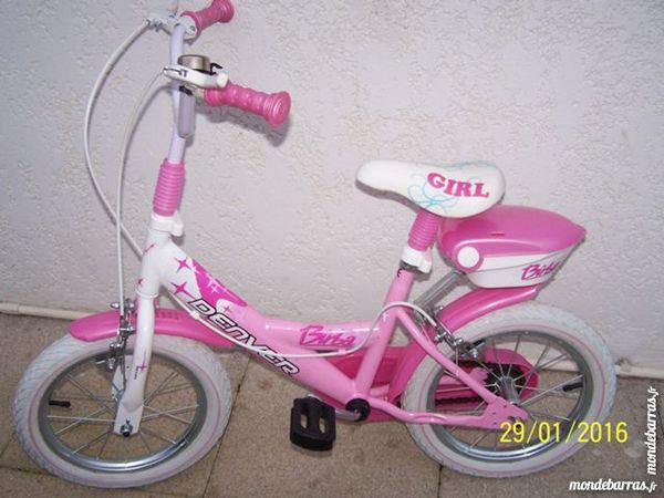 vélo fille rose 14 pouces 40 L'Aiguillon-sur-Mer (85)