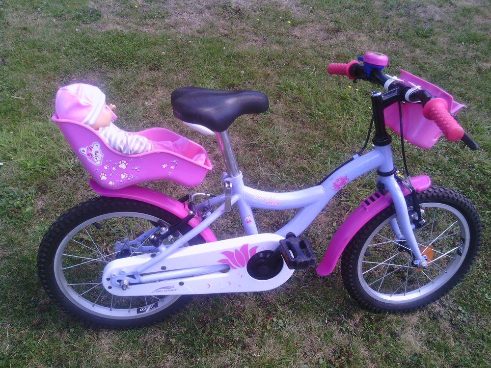 Vélo fille 16 ''