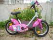 Vélo petite fille 5 / 6 ans