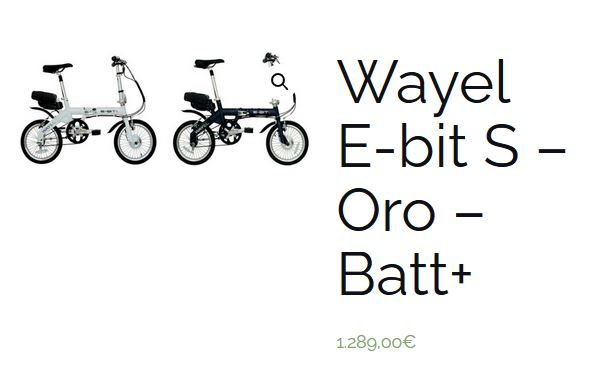 vélo pliable électrique E-BITS WAYEL neuf valeur 1289€ 1100 Gradignan (33)