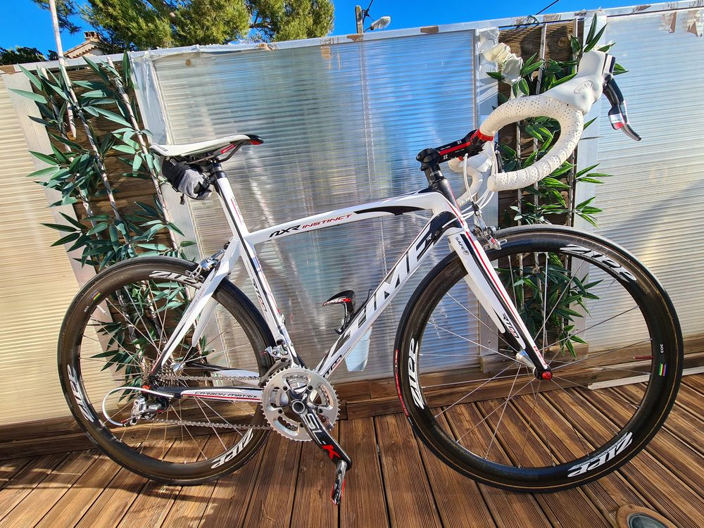 Vélo Time intégral carbone cadre nickel aucun coup + fourche 5950 Saint-Mandrier-sur-Mer (83)