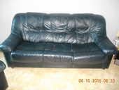 vend canape + 2 fauteuils cuir  180 Avignon (84)