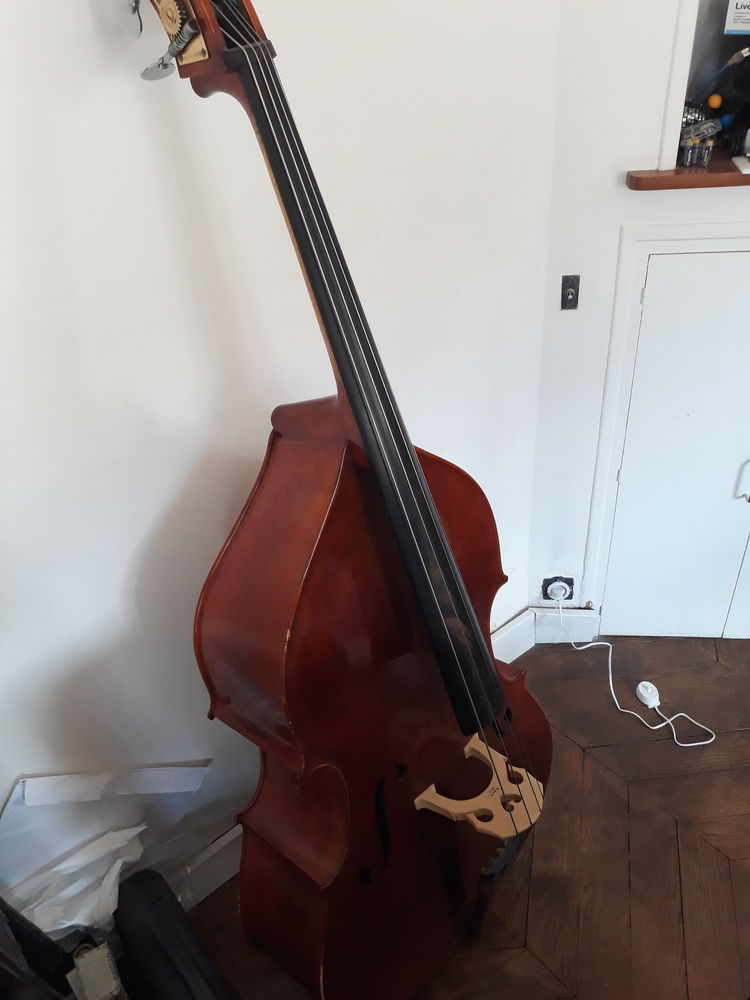 Vend contrebasse 1/2+housse+archet 2000 Paris 14 (75)