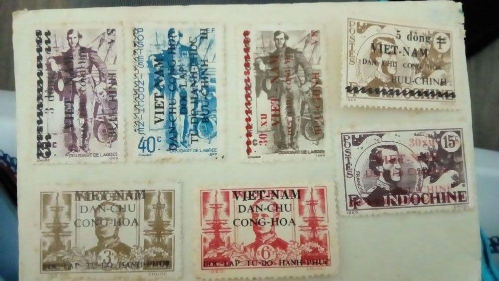 Vend différentes timbres de collection 0 Saint-Nazaire (44)