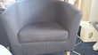 Vend 3 fauteuils bleu modèle Tullsta de chez Ikea Meubles