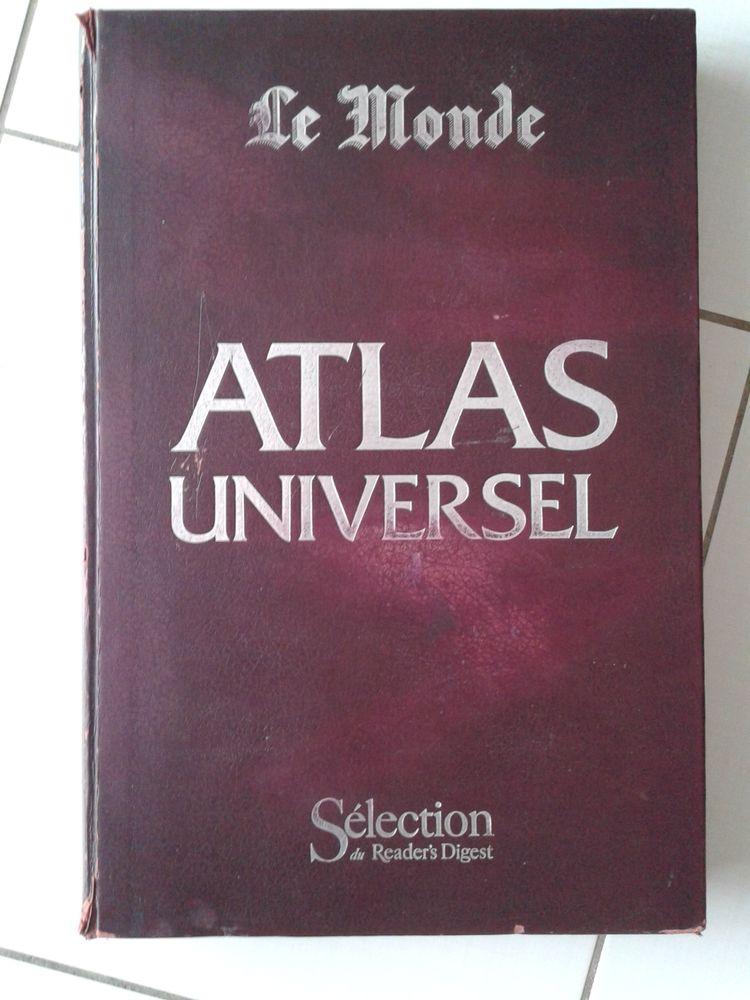 vend grand atlas universel, spécimen complet de 1982. 50 Pessac (33)
