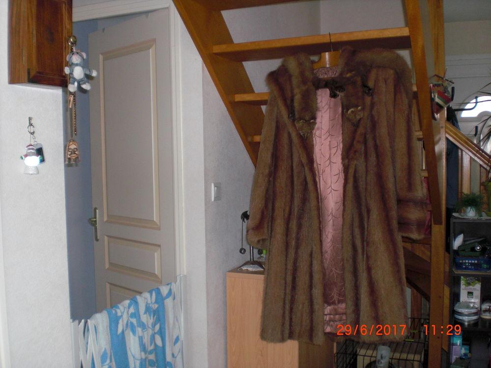 vend manteau de fourrure véritable  + 2 martres 0 Pleurtuit (35)