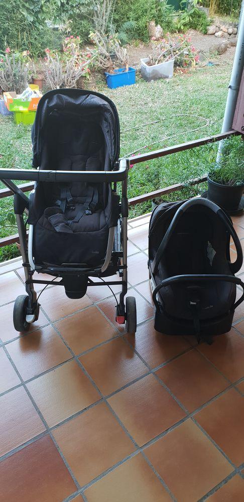 Vend Poussette bébéconfort noir   prix achat plus de 700e 250 La Réunion (97)