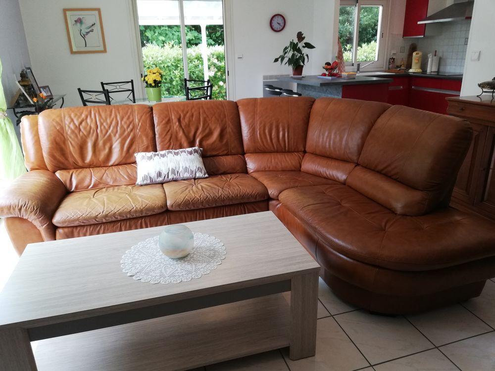 a vendre canapé en cuir 5  p 300 Saint-Vincent-de-Tyrosse (40)