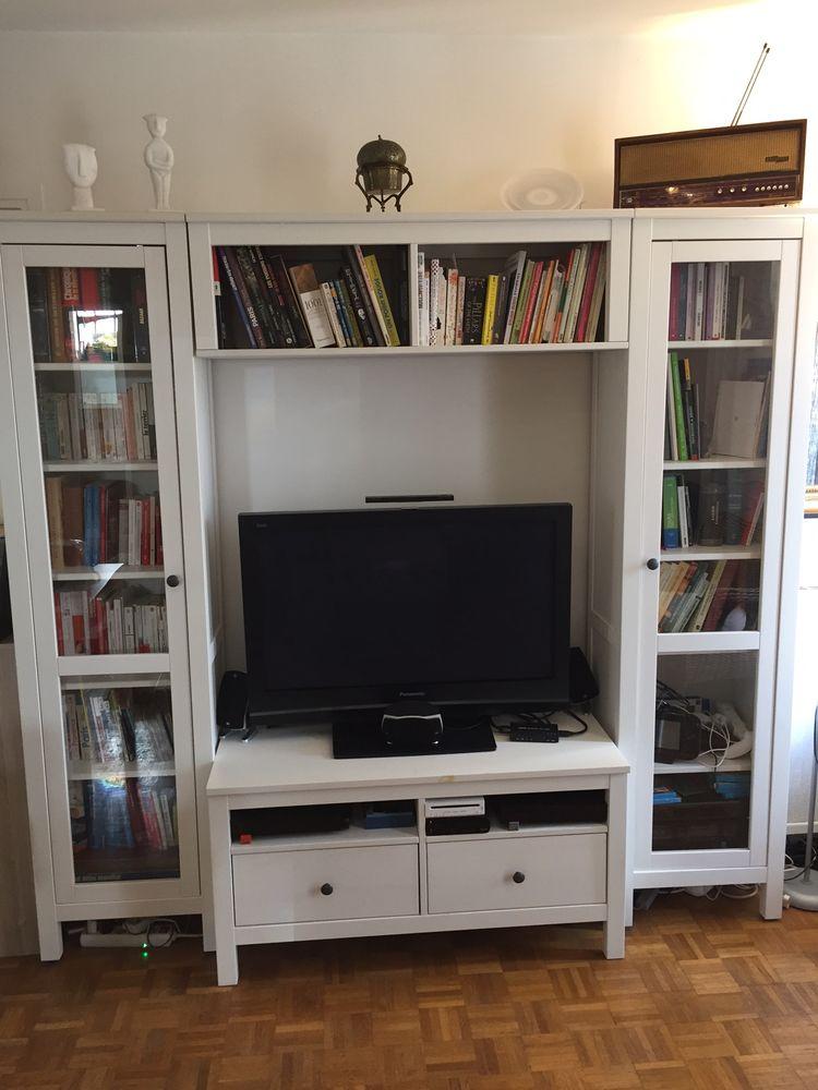 A vendre: une combinaison meuble TV & étagères. 0 Boulogne-Billancourt (92)