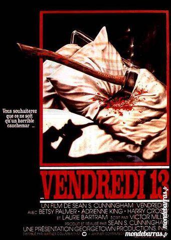 Dvd: Vendredi 13/1 (408) DVD et blu-ray
