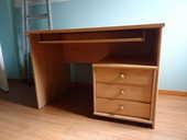 Vends bureau + bloc tiroirs + chaise à roulettes 70 Albertville (73)