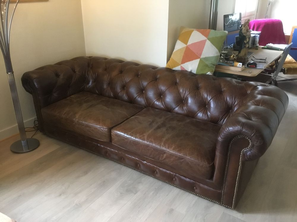 Vends Canapé Chesterfield