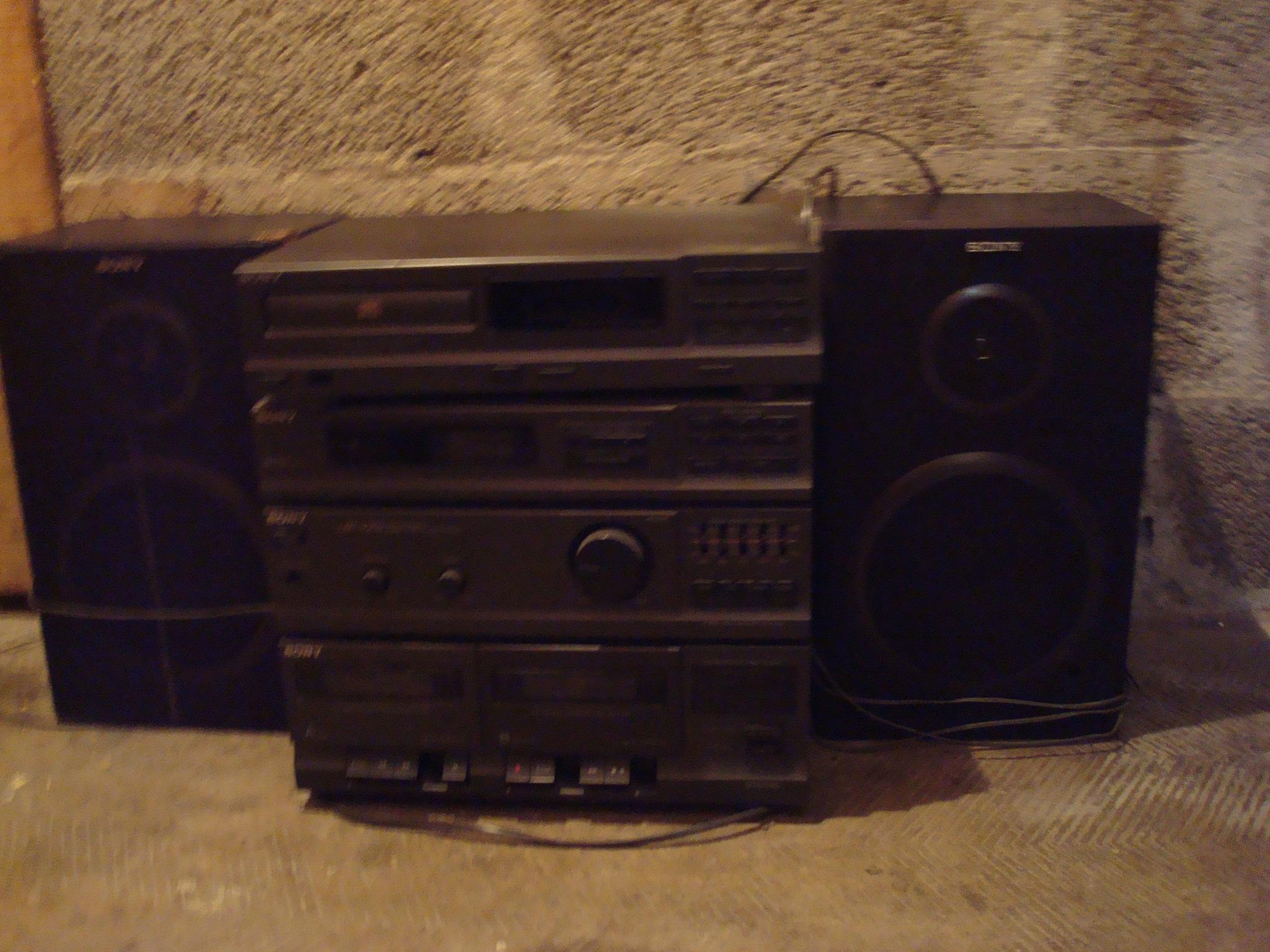Vends chaine stereo SONY Audio et hifi