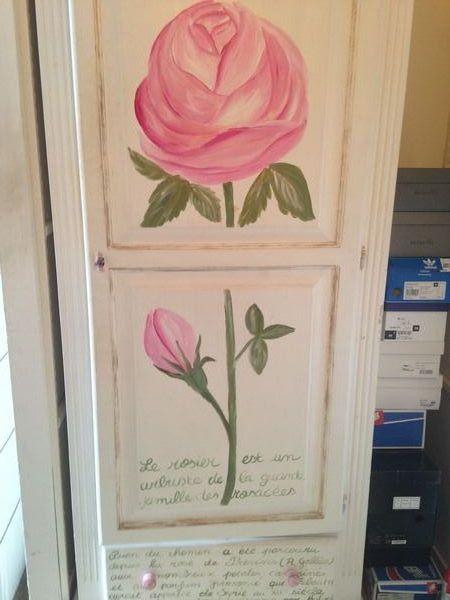 Je vends chambre enfant/fille en bois peint à la main :  450 Toulouse (31)