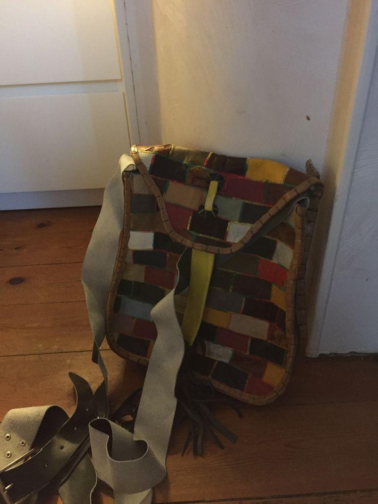 vends sac en cuir patchwork  25 Buzet-sur-Tarn (31)