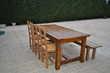 vends ensemble table / chaises / banc Savas-Mépin (38)