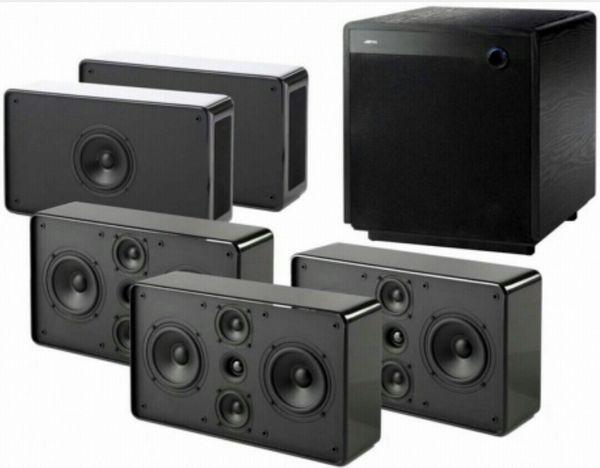 Vends kit home cinéma 5.1.2 Jamo D500 et Kef dolby Atmos Audio et hifi