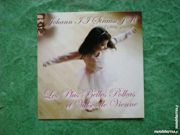 Vends CD Johann Strauss    Les plus belles polkas e  3 Saleilles (66)