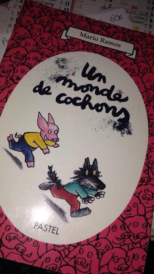 vends livre   un monde de cochons   pour enfant  2 Sauvian (34)