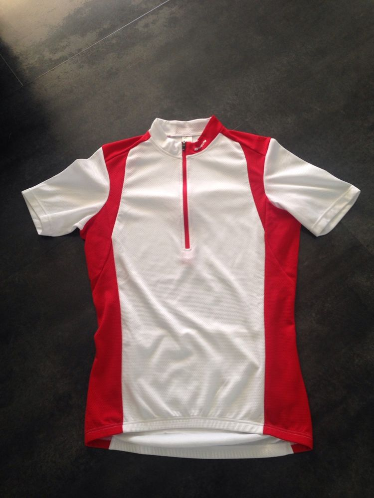 Vends Maillot cyclisme décatlon blanc / rouge  5 Canet-en-Roussillon (66)