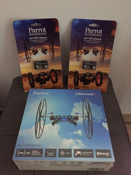 Vends Mini Drone Rolling Spider de Parrot + 2 batteries 100 Marseille 4 (13)