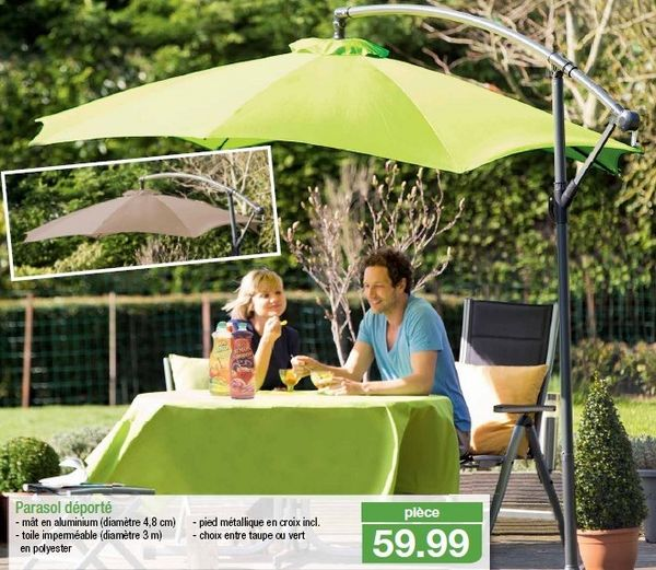 vends parasols neufs emballage d'origine mât déporté diam.3m 50 Carpentras (84)