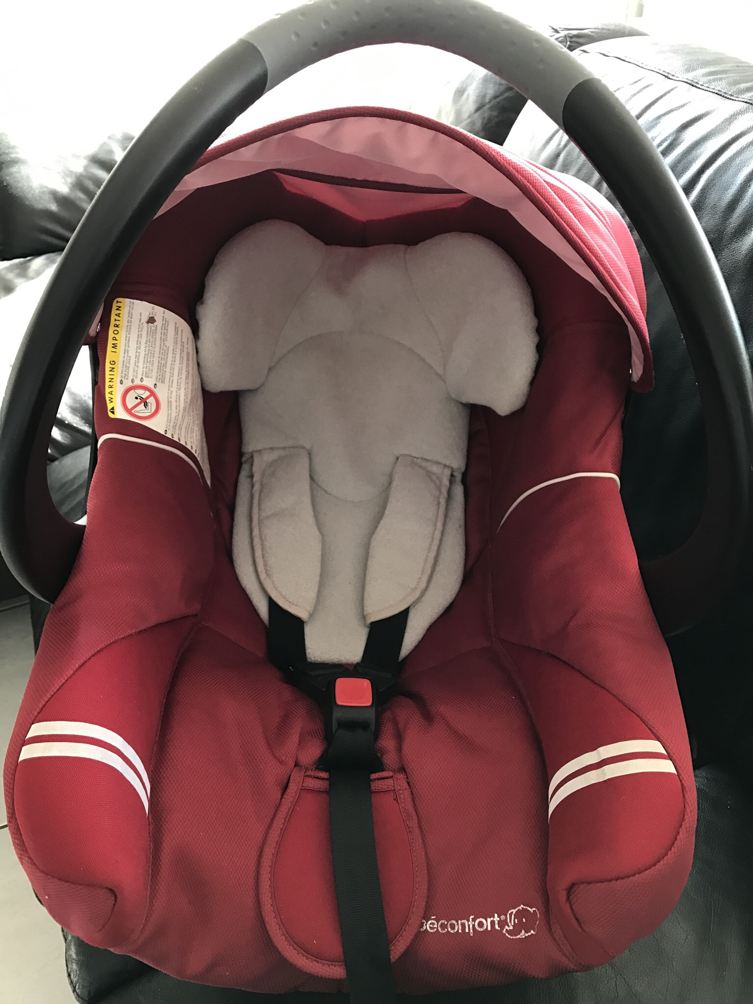 vends siège auto creatifix bebe confort rouge + embrase 70 Metz (57)