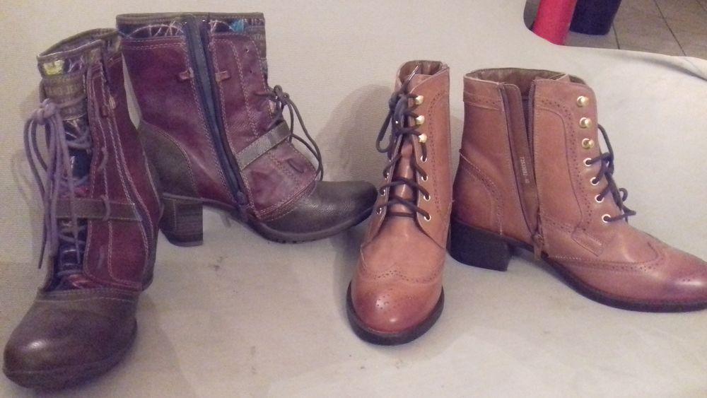 vente de chaussures , semelle, intérieur et dessus cuire 35 Saint-Pierre-du-Mont (40)