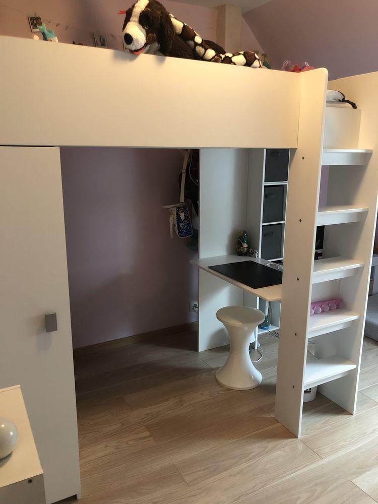 Vente lit combiné armoire et bureau inclus 300 Bergheim (68)
