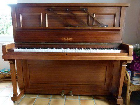 VENTE PIANO DROIT MARQUE PAYNE 500 Chanteloup-les-Bois (49)