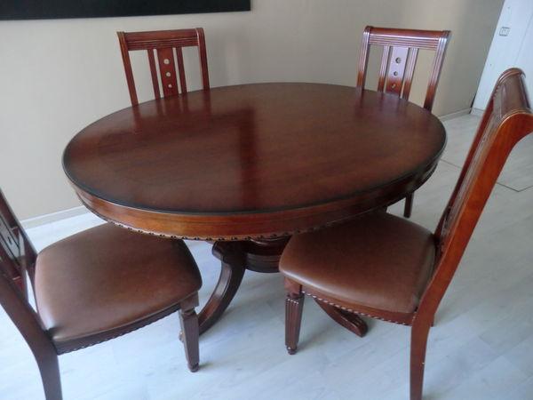 vente table +chaises 199 Aulnay-sous-Bois (93)