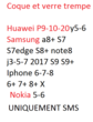 Ventes divers coque et verre trempe  Samsung Huawei iphone