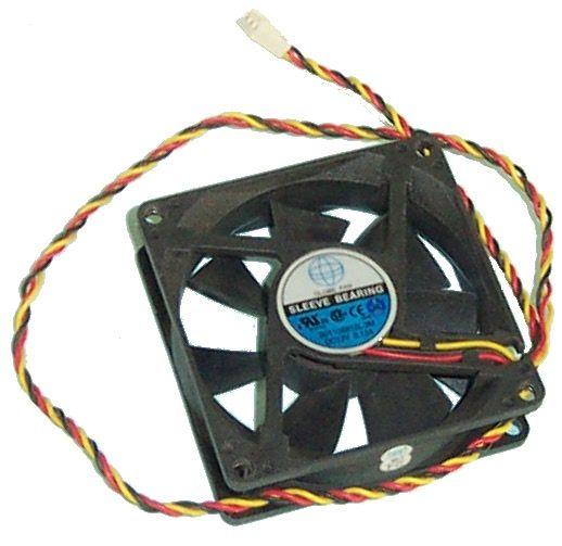 Ventilateur boîtier noir GLOBE FAN S01138812L-3M 80mm - 3PIN 2 Milhaud (30)